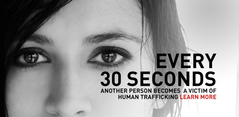 every 30 seconds human trafficking